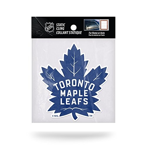 Rico Industries NHL Toronto Maple Leafs Die Cut Static Cling Decal