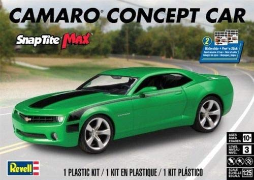 Concept Car Camaro (1/25 revell Camaro Concept Car Snap Tite Max)