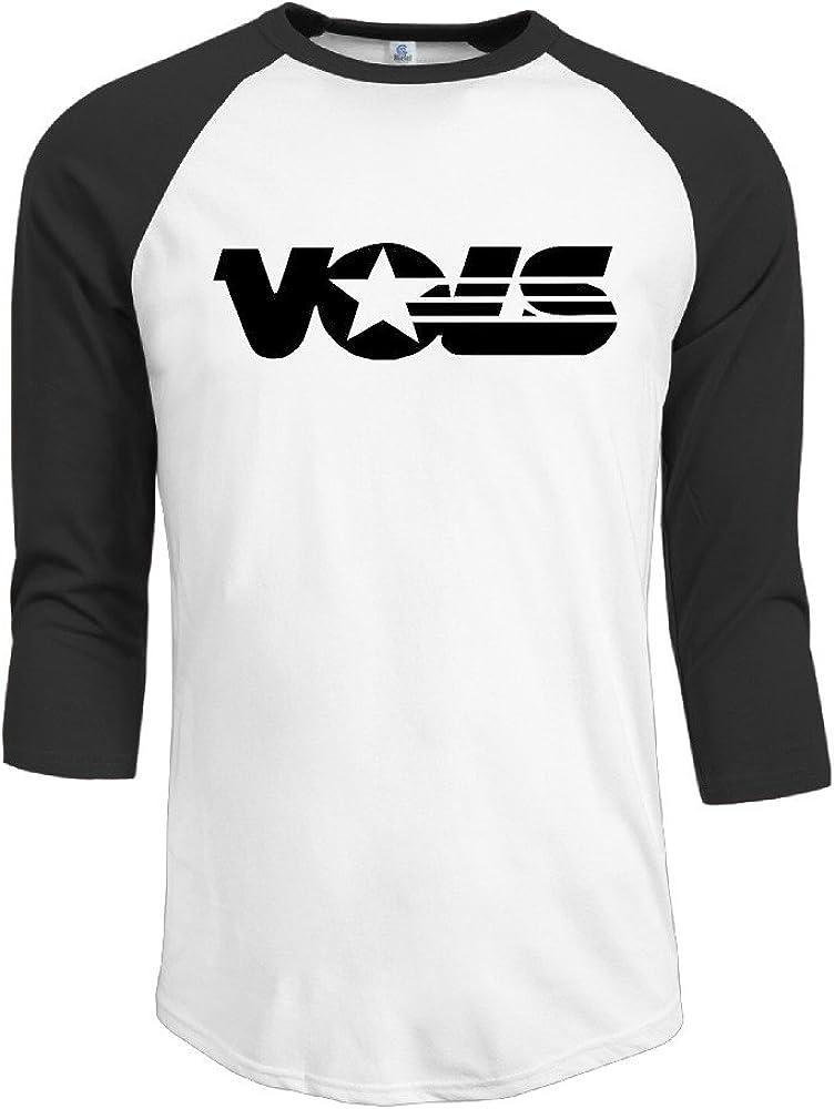 GUC Men's 3/4 Sleeve T-shirt - University Of Tennessee Volunteers Black
