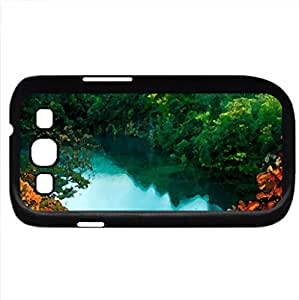 Beautiful Scenery - Watercolor style - Case Cover For Samsung Galaxy S3 i9300 (Black)