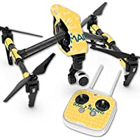 Skin For DJI Inspire 1 Quadcopter Drone – Dogs Over Humans | MightySkins Protective, Durable, and Unique Vinyl Decal wrap cover | Easy To Apply, Remove, and Change Styles | Made in the USA