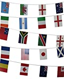 Rugby World Cup 2015 Banner 25 International Flags 23ft