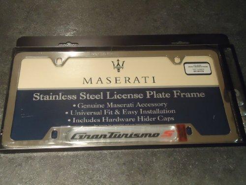 oem-maserati-gran-turismo-s-stainless-steel-license-plate-frame