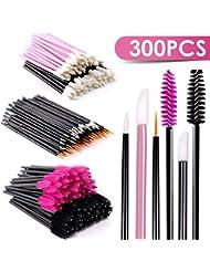 Disposable Mascara Wands Makeup Applicators - Mascara Brushes Lipstick Applicators Eyeliner Brushes BTArtbox 300PCS Makeup Applicators Brushes Tools Kit