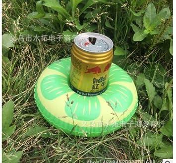 Hemore Portavasos Hinchable Flotadores de Bebidas para Piscina y diversión acuática Pool Flotador Bebidas Decoraciones para Niños y Adultos: Amazon.es: ...