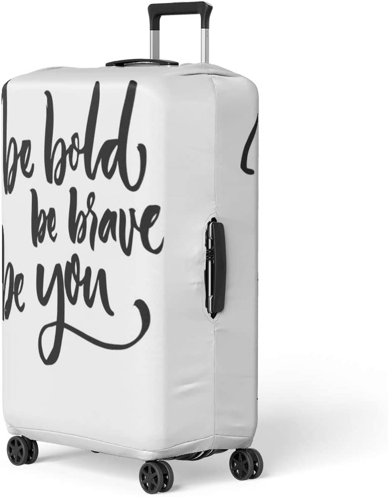 Pinbeam Luggage Cover Worry Ends When Faith Begins Bible Verse Travel Suitcase Cover Protector Baggage Case Fits 18-22 inches