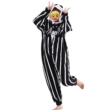 ef69878b91 The Nightmare Before Christmas Jack Skellington Skeleton Romper Adult Men  Women Unisex Animal Kigurumi Cosplay Pajamas