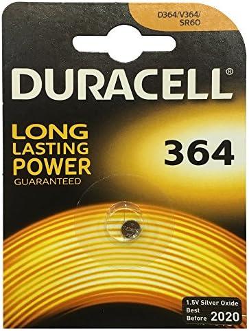 Duracell knoopcel zilveroxide horlogebatterijen SR621D364SR60