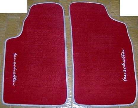 Tappeti Tappetini Artigianali per FIAT Barchetta su misura Ricamati