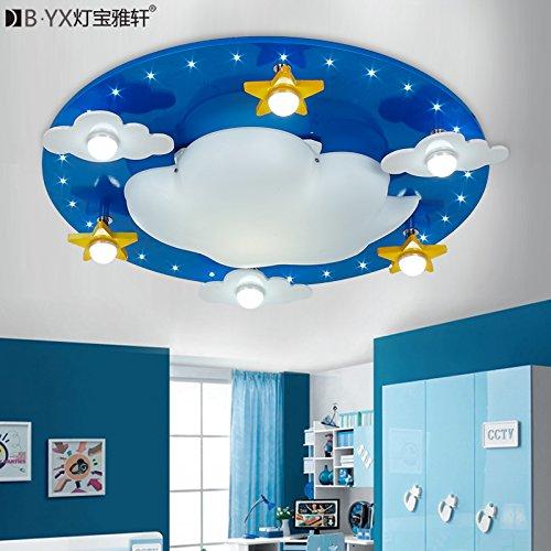 Fsd Kinder Cartoon Deckenleuchte Wolken Kinderzimmer ...