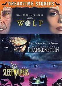Wolf & Mary Shelley's Frankenstein & Sleepwalkers Triple Feature Pack [DVD]
