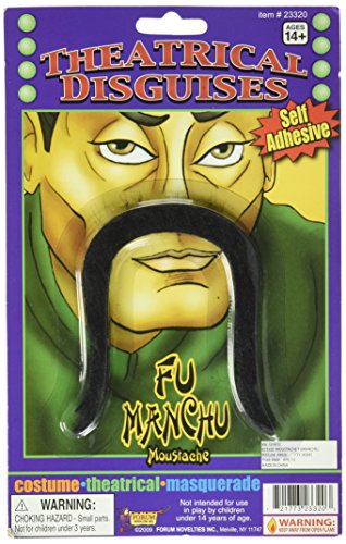 Forum Novelties Fumanchu Moustache