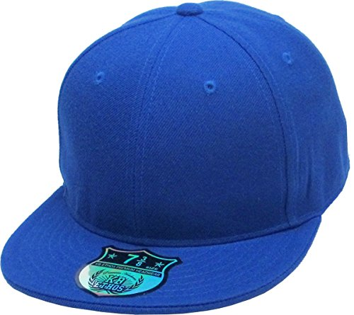 Awesome Flat Caps - KBETHOS KNW-2364 ROY (7 3/4) The Real Original Fitted Flat-Bill Hats by True-Fit, 9 Sizes & 20 Colors