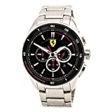 Automotive : Ferrari Men's 0830188 Gran Premio Analog Display Quartz Silver-ToneWatch
