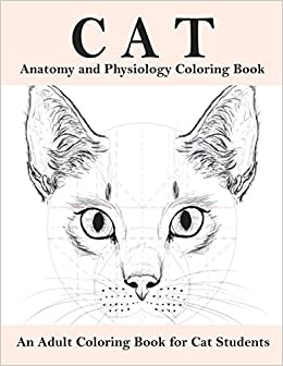 Amazon Com Cat Anatomy And Physiology Coloring Book An Adult