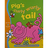 Pig with Big Curly Wurly Tail (Goosefeather Farm)