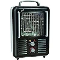 COMFORT ZONE CZ798BK Deluxe Milkhouse Heater/Fan Home, garden & living