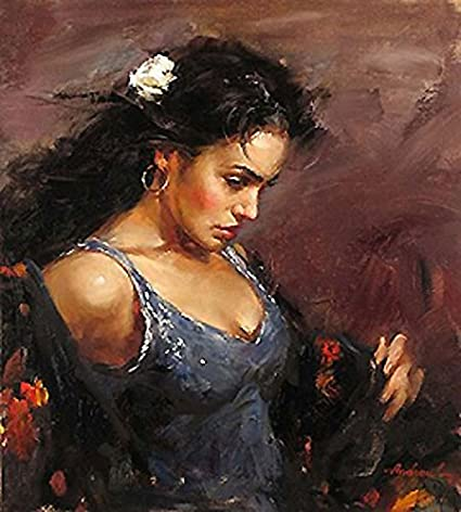 amazon com gypsy oil painting famous oil painting reproduction