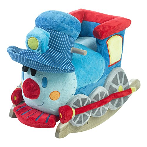 [Rockabye Trax the Train Rocker, One Size] (Rocker Costume For Boys)
