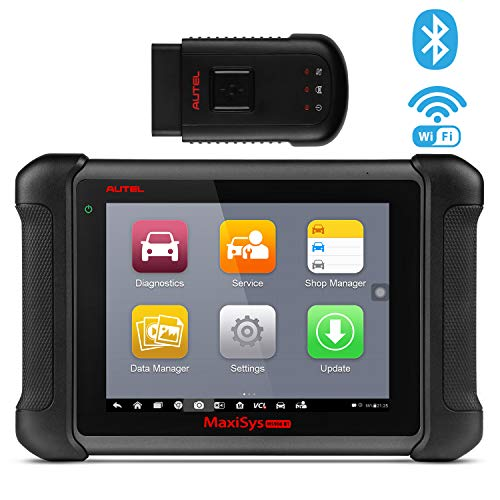 (Autel MaxiSys MS906BT Bluetooth Automotive Scan Tool Diagnostic Scanner with ECU Coding, Key Coding, Bi-Directional Control, Oil Reset, ABS, SRS, DPF, EPB, TPMS, Advanced Ver. of MS906 DS808 MK808)