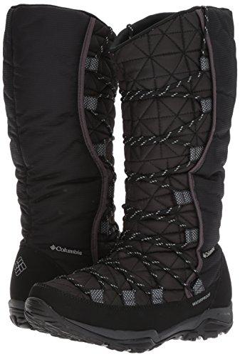 Columbia Women's Loveland Omni-Heat Snow Boot, Black, Earl Grey, 8.5 B US by Columbia (Image #6)