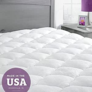 Amazon Com Exceptionalsheets Bamboo Queen Mattress Pad