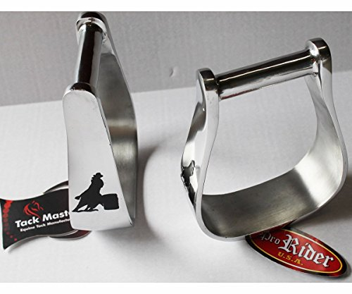 Western Show Trail Horse Saddle Stirrups Replacement Barrel Racer Aluminum 5131 Aluminum Trail Stirrups