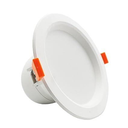 lediary 6 W LED radar sensor Sensor de movimiento empotrable de techo luz LED techo lámpara