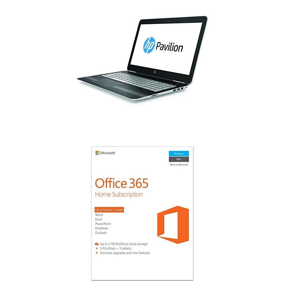 HP Pavilion 15-bc006na 15 6-Inch FHD Laptop (Natural silver