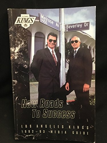 Los Angeles Kings 1992-1993 Media Guide