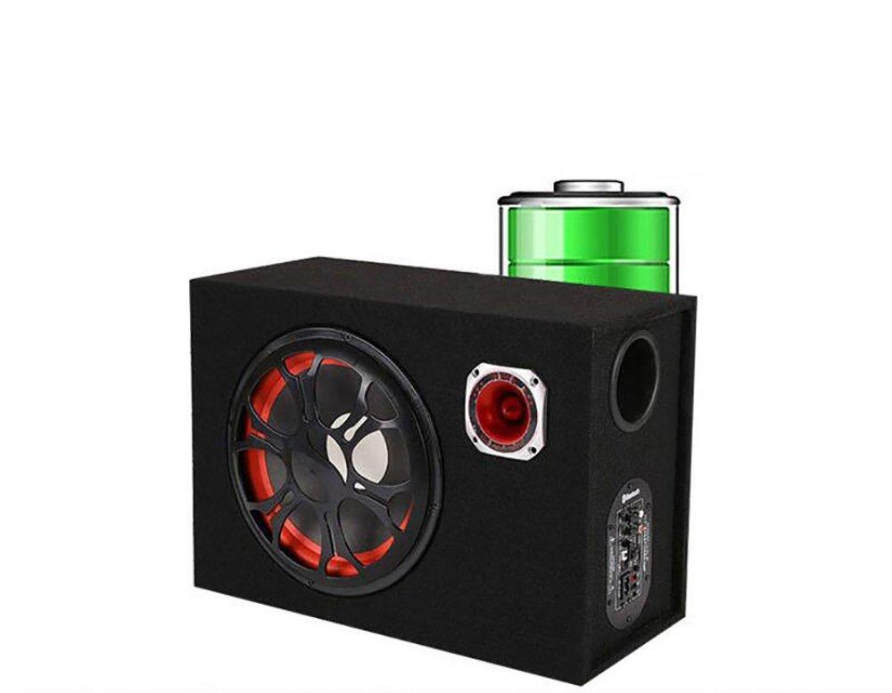 QXXZ 6Inch 12V 24V 220V Quadrat Bluetooth-Lautsprecher Subwoofer Motorrad Zu Hause//Auto//Computer-Nutzung