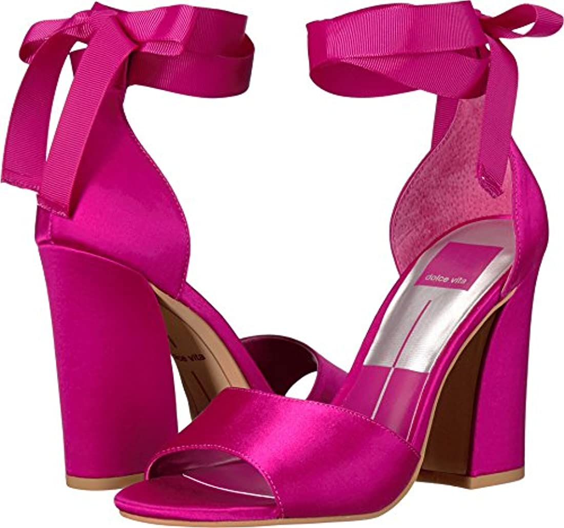 Dolce Vita Women's Harvyy Ankle Tie Sandal Magenta Satin Size 8.5 M. About  this product. 2 watching. Picture 1 of 2; Picture 2 of 2