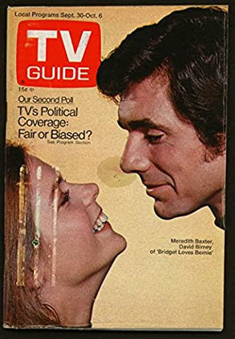 TV GUIDE 09/30/1972-BRIDGET LOVES BERNIE/NEW NFL RULES G (Bridget Loves Bernie)