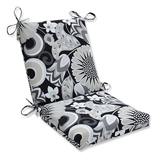 Sophia Graphite Squared Corners Chair Cushion