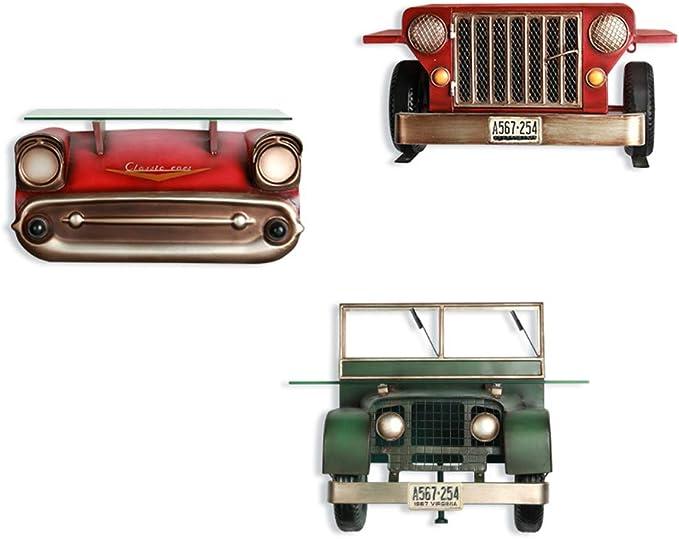 European Vintage Metal Car Model Toy Furnishing Articles Office Desk Decoration