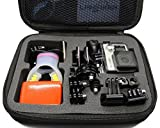 Revesun Portable Shockproof Protective Carry Case Medium Size For Gopro Hero 4 Session HERO4 Silver HERO4 Black HERO HERO2 3 3+ HERO4 SJCAM SJ4000 SJ5000 GoPro Accessories SJCAM Accessories