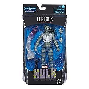 Hasbro-Marvel-Legends-Series-Figura-de-accin-coleccionable-de-Hulk-Toy-diseo-premium-y-2-accesorios-2-piezas-para-construir-una-figura