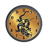 CafePress – Dragon – Unique Decorative 10″ Wall Clock