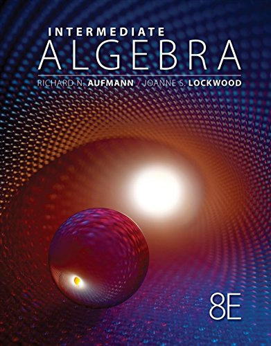 Cengage Advantage Books: Intermediate Algebra with Applications