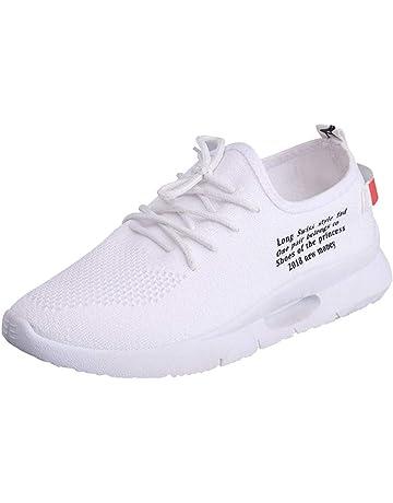 Zapatillas Running Mujer,PANPANY Zapatos con Shoes Cordones de Shoes Verano de Zapatos Casual de