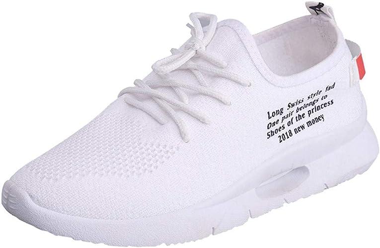 Zapatillas de Exterior Running para Mujer Otoño Invierno 2018 Moda Casual Zapatos de Planos cuña con Cordones Dama PAOLIAN Señora Zapatillas Aire Libre y Deporte Talla Grande Casual Calzado: Amazon.es: Zapatos y