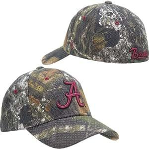 NCAA Zephyr Alabama Crimson Tide Camo Mossy Oak Camp Full Draw Z-Fit Hat (X-Large)
