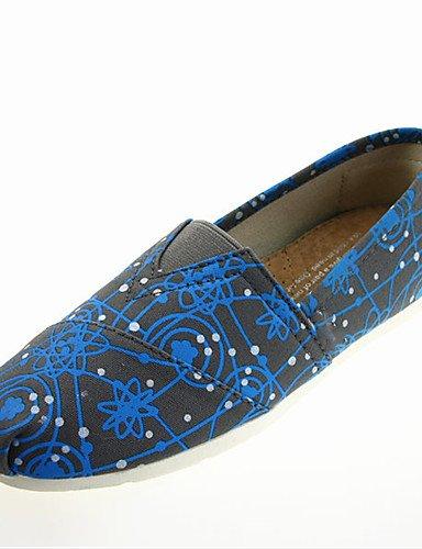 Punta eu40 cn41 Mujer eu40 uk7 Redonda Plano Tela Punta blue cn39 uk7 eu39 us8 us9 Confort blue ZQ Azul Bailarina Tac¨®n cn41 uk6 us9 CerradaCasual blue Negro x0H6nwAw