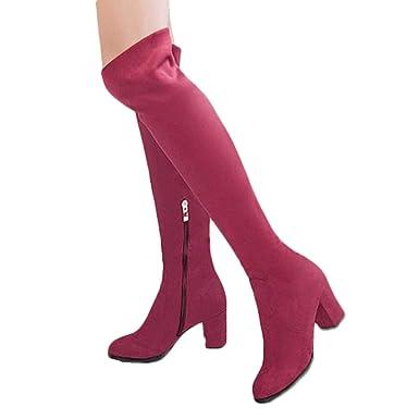 Schuhe Damen TianWlio Stiefel Frauen Herbst Winter Schuhe