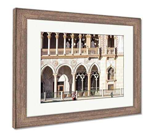 The Venetian Resort Hotel Casino - Ashley Framed Prints The Venetian Resort Hotel Casino, Wall Art Home Decoration, Color, 26x30 (Frame Size), Rustic Barn Wood Frame, AG6425773