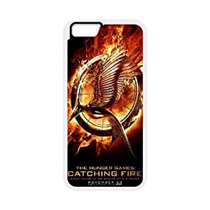 iPhone 6 Plus 5.5 Inch Case White The Hunger Games Cell Phone Case Cover N5L1OM