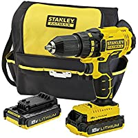 STANLEY FATMAX FMC601D2S-XE18V Lithium-ion Drill Driver Kit