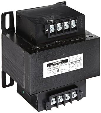 Siemens MT0750I Industrial Power Transformer, Domestic, 380/400/415 Primary Volts, 110 X 220 Secondary Volts, 750VA Rating