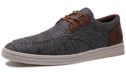 Up Shoes Casual Lace Mens Grey Globalwin 1803dark Fashion Boat Loafers 0XAHEq