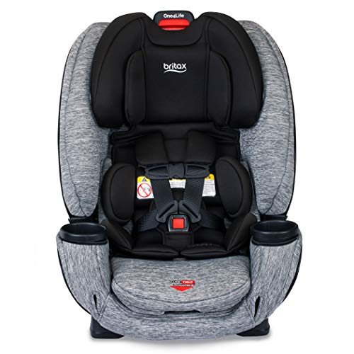 51vDegR%2Bl5L - Britax One4Life ClickTight All-In-One Car Seat – 10 Years Of Use – Infant, Convertible, Booster – 5 To 120 Pounds, Spark Premium Soft Knit Fabric [Amazon Exclusive]